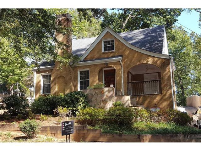 1407 Lanier Place NE, Atlanta, GA 30306 (MLS #5694150) :: North Atlanta Home Team