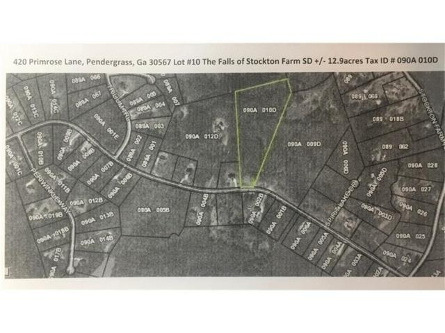 420 Primrose Lane, Pendergrass, GA 30567 (MLS #5787012) :: Carr Real Estate Experts