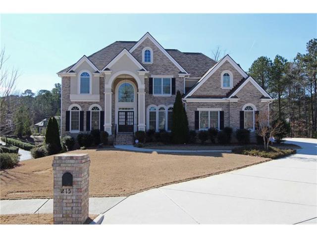 215 Tana Drive, Fayetteville, GA 30214 (MLS #5799714) :: North Atlanta Home Team