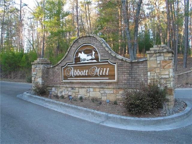 Lot 19 Abbott Mill Road, Ellijay, GA 30540 (MLS #5806499) :: North Atlanta Home Team