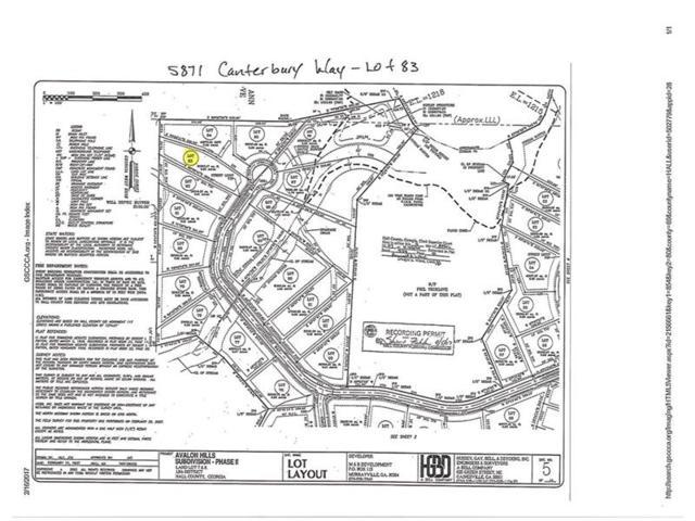 5871 Canterbury Way, Clermont, GA 30527 (MLS #5808577) :: North Atlanta Home Team