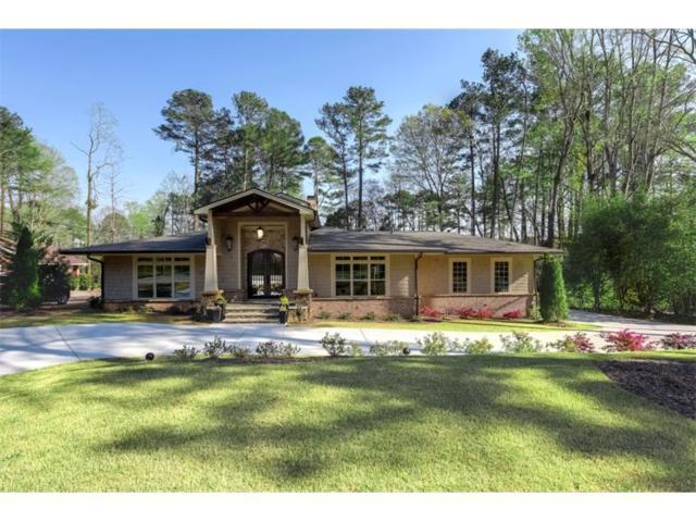 595 Spalding Drive, Sandy Springs, GA 30328 (MLS #5828522) :: North Atlanta Home Team