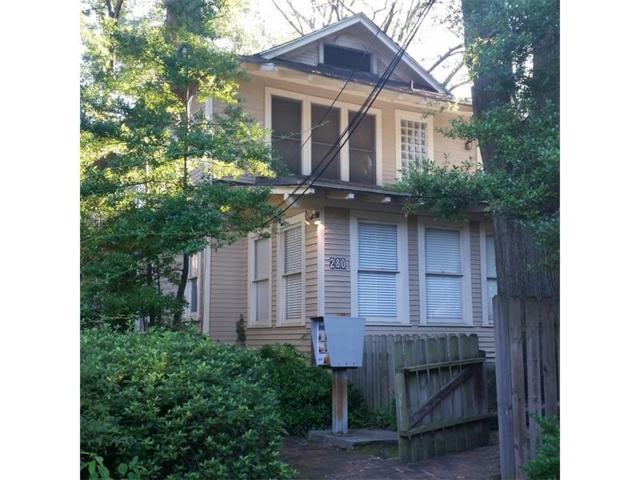 280 8th Street NE, Atlanta, GA 30309 (MLS #5840088) :: The Hinsons - Mike Hinson & Harriet Hinson