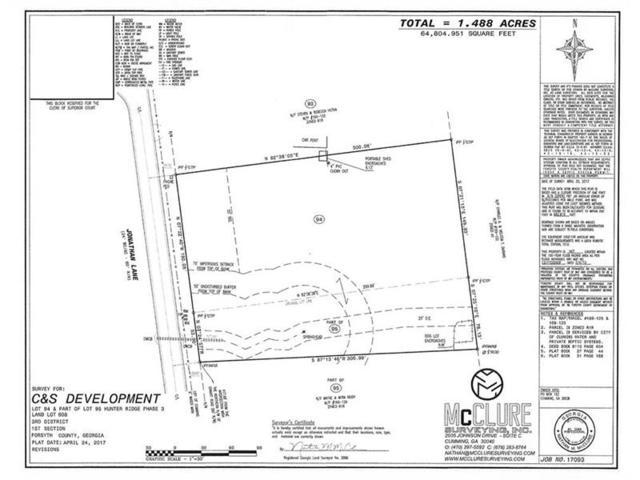 0 Jonathan Lane, Cumming, GA 30028 (MLS #5842665) :: Carr Real Estate Experts