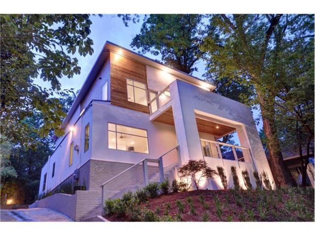 428 8th Street NE, Atlanta, GA 30309 (MLS #5843521) :: The Hinsons - Mike Hinson & Harriet Hinson