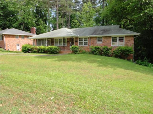 1080 Oakdale Drive SE, Smyrna, GA 30080 (MLS #5844894) :: North Atlanta Home Team