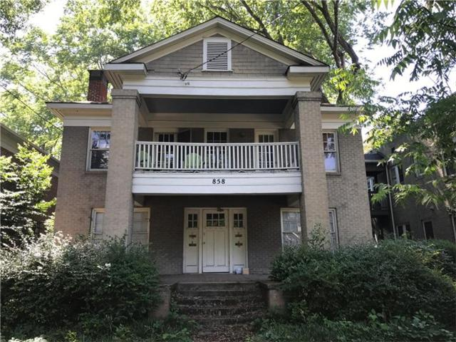 858 Charles Allen Drive NE, Atlanta, GA 30308 (MLS #5849506) :: The Hinsons - Mike Hinson & Harriet Hinson