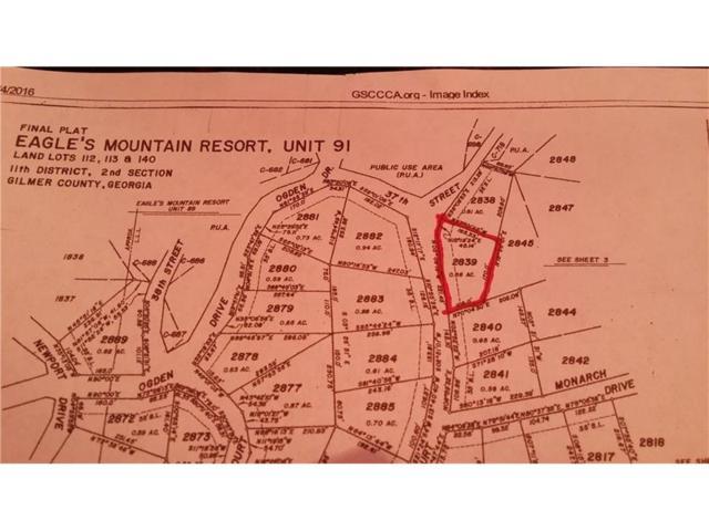 LT2839 Morely Court, Ellijay, GA 30540 (MLS #5850698) :: North Atlanta Home Team