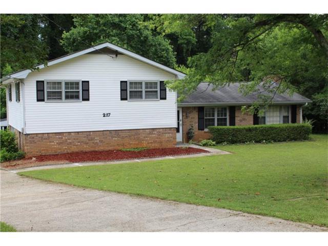 217 Beaver Pond Drive, Woodstock, GA 30188 (MLS #5853511) :: North Atlanta Home Team
