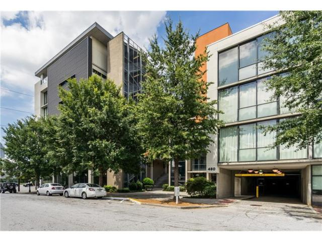 480 John Wesley Dobbs Avenue NE #416, Atlanta, GA 30312 (MLS #5854685) :: North Atlanta Home Team