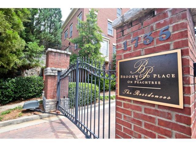 1735 Peachtree Street NE #333, Atlanta, GA 30309 (MLS #5854829) :: North Atlanta Home Team