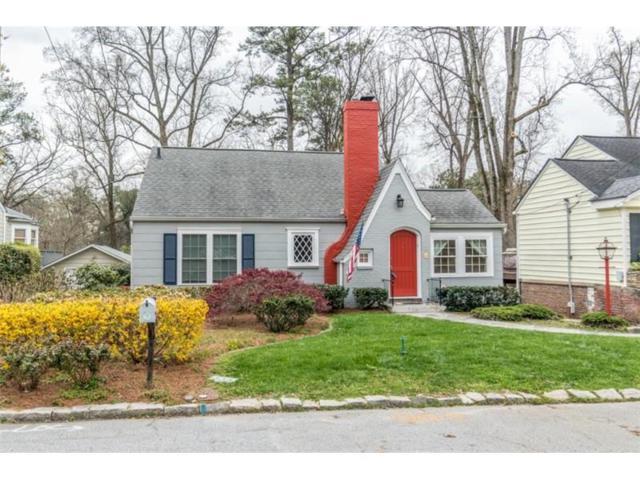 247 Springdale Drive NE, Atlanta, GA 30305 (MLS #5856448) :: North Atlanta Home Team
