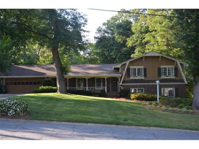 2372 Kings Point Drive, Dunwoody, GA 30338 (MLS #5860204) :: North Atlanta Home Team