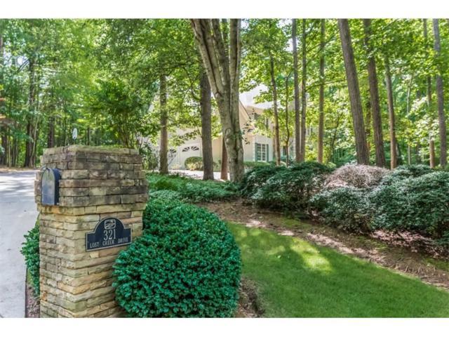 321 Lost Creek Drive, Kennesaw, GA 30152 (MLS #5862619) :: North Atlanta Home Team