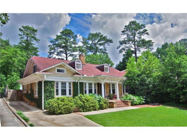 1298 Oxford Road NE, Atlanta, GA 30306 (MLS #5862778) :: North Atlanta Home Team