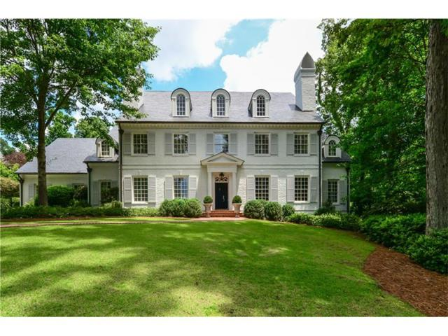 875 W Paces Ferry Road NW, Atlanta, GA 30327 (MLS #5863670) :: The Hinsons - Mike Hinson & Harriet Hinson