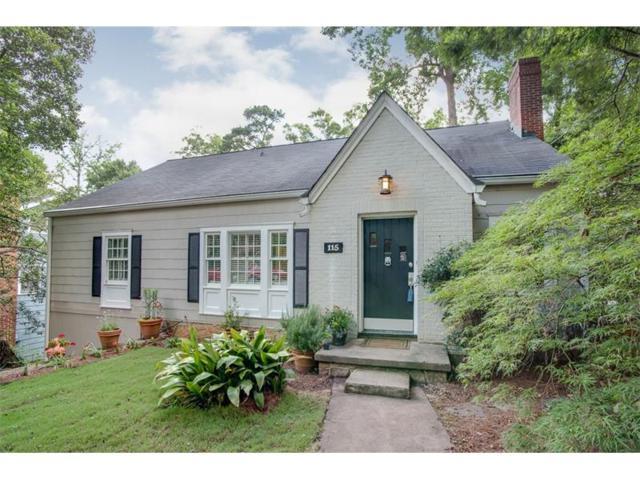 115 Clarion Avenue, Decatur, GA 30030 (MLS #5864023) :: North Atlanta Home Team