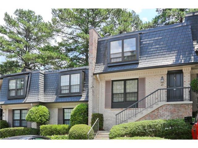 41 La Rue Place NW #41, Atlanta, GA 30327 (MLS #5864486) :: North Atlanta Home Team