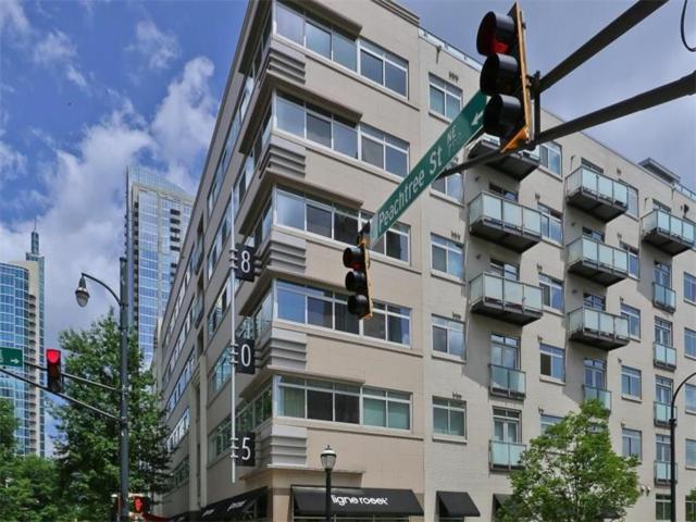 805 Peachtree Street NE #413, Atlanta, GA 30308 (MLS #5864808) :: North Atlanta Home Team