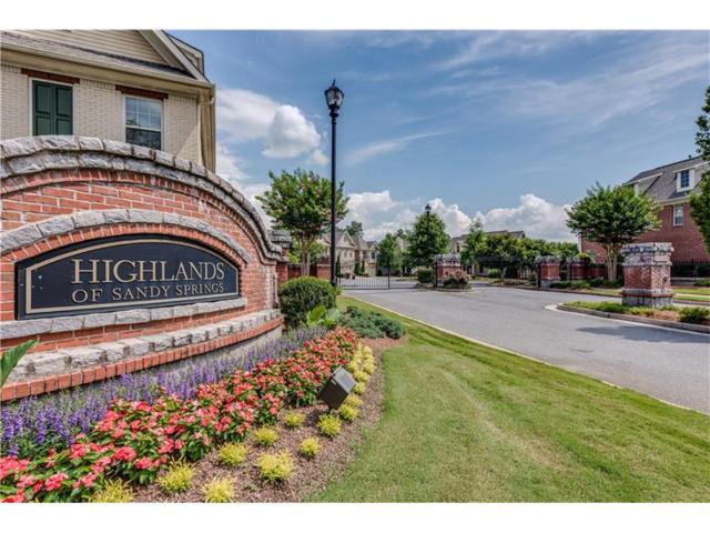 7435 Highland Bluff, Sandy Springs, GA 30328 (MLS #5865839) :: North Atlanta Home Team