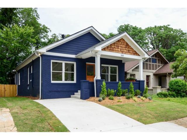 500 Angier Avenue NE, Atlanta, GA 30308 (MLS #5866061) :: North Atlanta Home Team