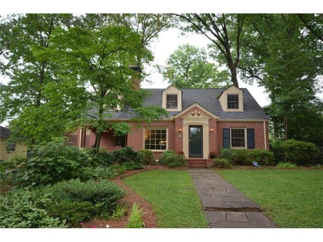 515 Emory Circle NE, Atlanta, GA 30307 (MLS #5868186) :: North Atlanta Home Team