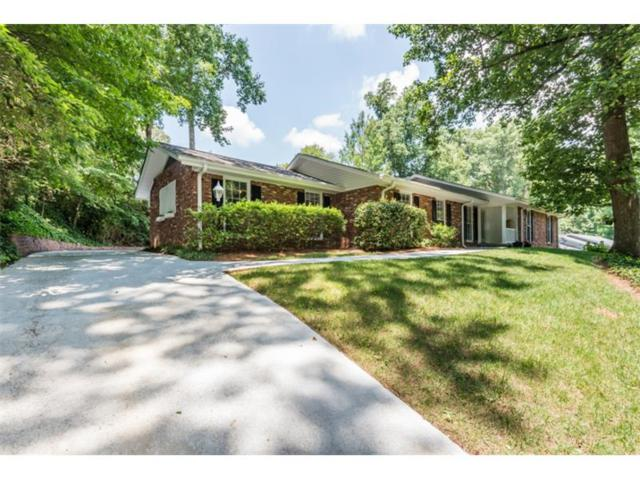 6840 Castleton Drive, Sandy Springs, GA 30328 (MLS #5868262) :: North Atlanta Home Team