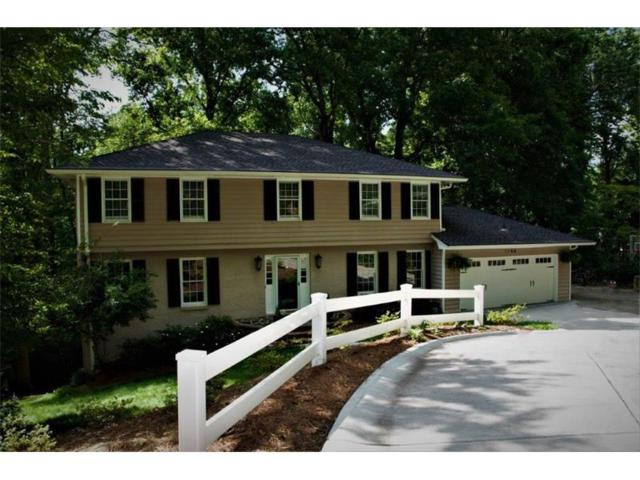 1166 Hidden Ridge Lane, Dunwoody, GA 30338 (MLS #5868558) :: RE/MAX Paramount Properties
