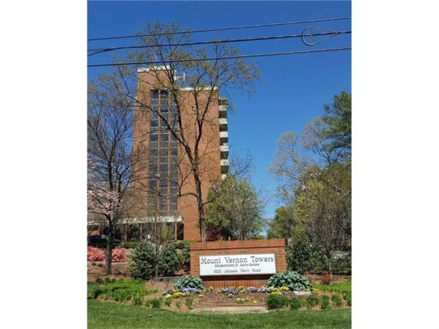 300 Johnson Ferry Road NE B703, Atlanta, GA 30328 (MLS #5869054) :: North Atlanta Home Team