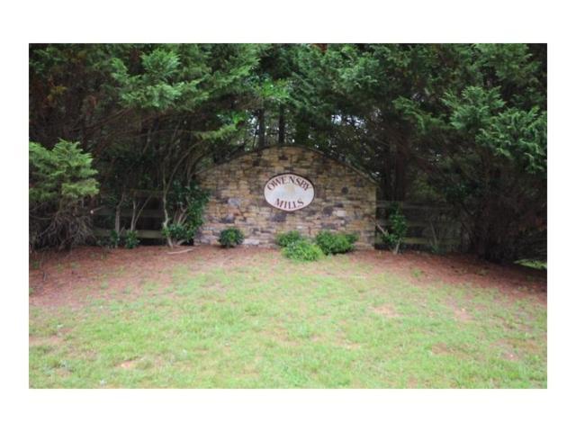 0 Owensby Mill Drive, Ellijay, GA 30536 (MLS #5869103) :: North Atlanta Home Team