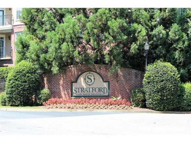 1305 Stratford Common #1305, Decatur, GA 30033 (MLS #5870934) :: The Hinsons - Mike Hinson & Harriet Hinson