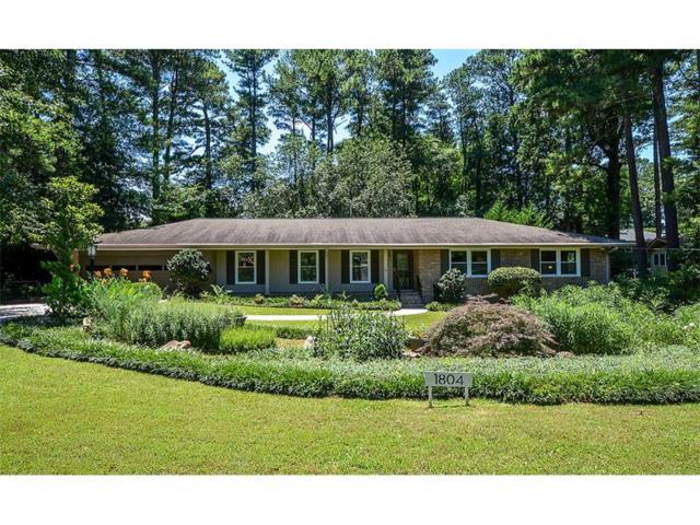 1804 Crestline Drive NE, Atlanta, GA 30345 (MLS #5873376) :: North Atlanta Home Team