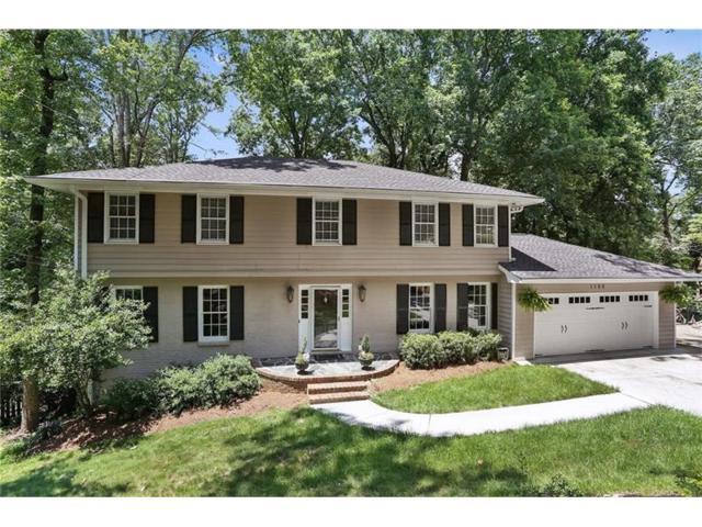 1166 Hidden Ridge Lane, Dunwoody, GA 30338 (MLS #5876528) :: North Atlanta Home Team