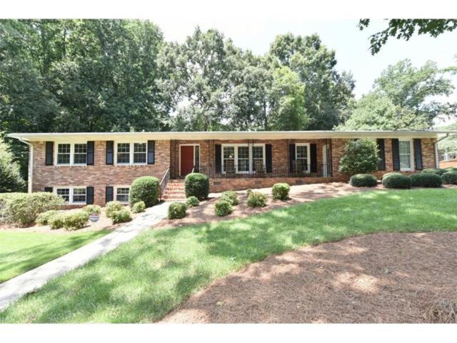 4386 E Kings Point Circle, Dunwoody, GA 30338 (MLS #5880886) :: North Atlanta Home Team