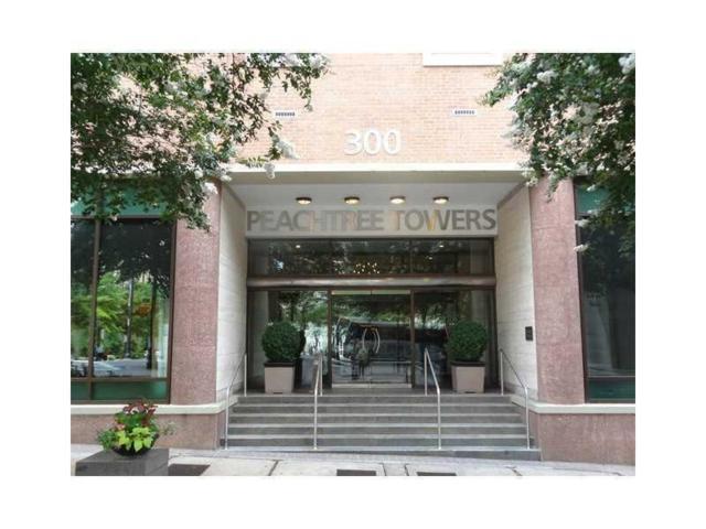 300 W Peachtree Street 11C, Atlanta, GA 30308 (MLS #5881545) :: The Zac Team @ RE/MAX Metro Atlanta