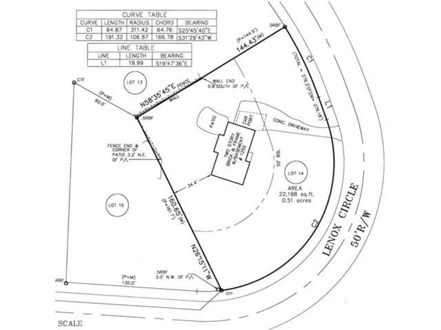 1250 Lenox Circle NE, Atlanta, GA 30306 (MLS #5882001) :: North Atlanta Home Team
