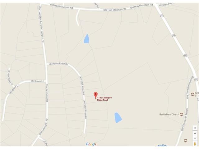 1140 Lexington Ridge Road, Hoschton, GA 30548 (MLS #5883729) :: The Zac Team @ RE/MAX Metro Atlanta