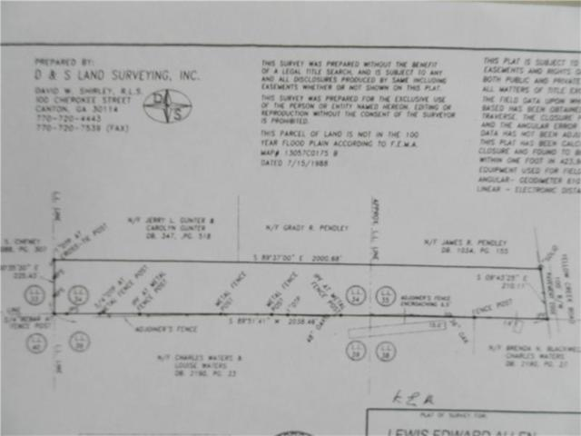 3912 Yellow Creek Road, Ball Ground, GA 30107 (MLS #5884245) :: Path & Post Real Estate