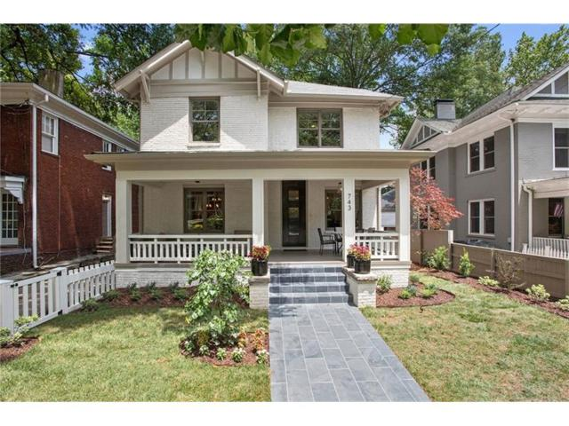 743 Argonne Avenue NE, Atlanta, GA 30308 (MLS #5885322) :: The Hinsons - Mike Hinson & Harriet Hinson