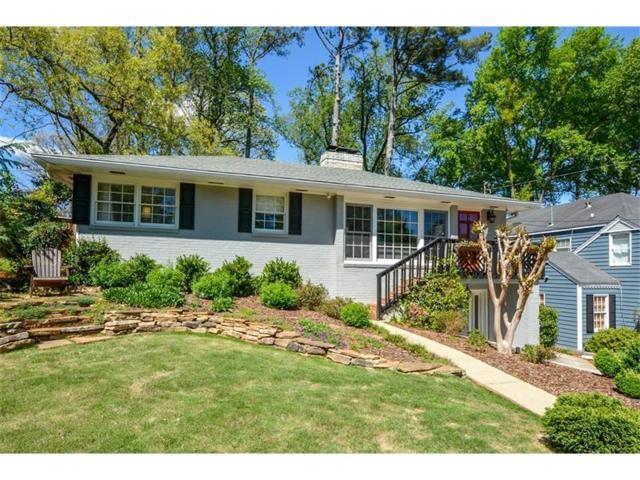 813 Longwood Drive NW, Atlanta, GA 30305 (MLS #5886505) :: North Atlanta Home Team