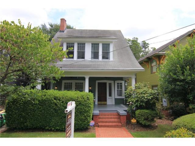 389 Sinclair Avenue NE, Atlanta, GA 30307 (MLS #5890630) :: North Atlanta Home Team