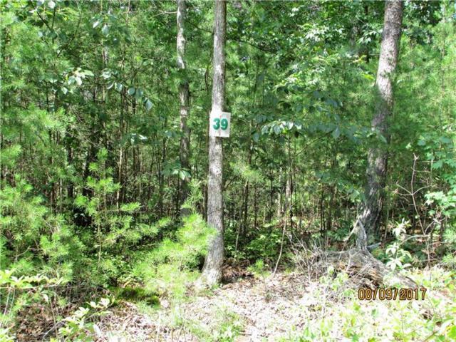 Lt 39 Farmer Circle, Mineral Bluff, GA 30559 (MLS #5892512) :: Carr Real Estate Experts