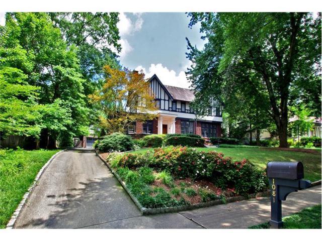 1081 Springdale Road NE, Atlanta, GA 30306 (MLS #5893073) :: North Atlanta Home Team