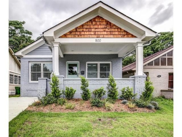 500 Angier Avenue NE, Atlanta, GA 30308 (MLS #5894828) :: North Atlanta Home Team