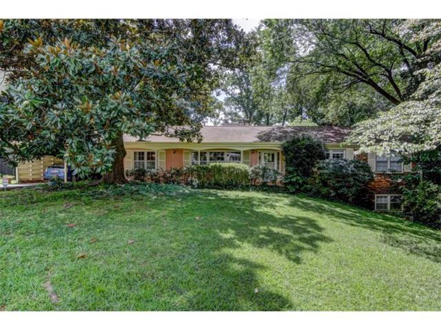 153 Laurel Forest Circle NE, Atlanta, GA 30342 (MLS #5896182) :: The Hinsons - Mike Hinson & Harriet Hinson