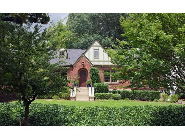 1098 Lanier Boulevard NE, Atlanta, GA 30306 (MLS #5896679) :: The Hinsons - Mike Hinson & Harriet Hinson