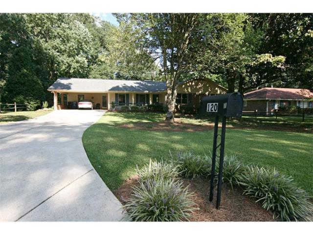 120 Burnett Way, Alpharetta, GA 30009 (MLS #5897044) :: North Atlanta Home Team