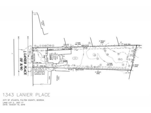 1343 Lanier Place NE, Atlanta, GA 30306 (MLS #5897177) :: North Atlanta Home Team