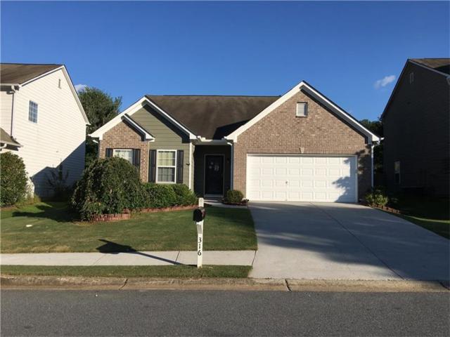 316 Tuggle Court, Woodstock, GA 30188 (MLS #5897193) :: North Atlanta Home Team