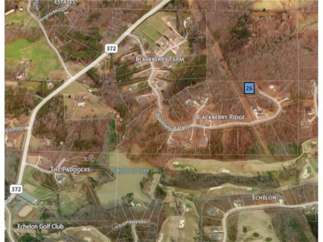 Lot 26 Townsend Pass, Alpharetta, GA 30004 (MLS #5898661) :: North Atlanta Home Team